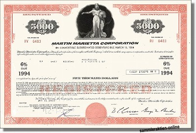Martin Marietta Corporation - Lockheed Martin