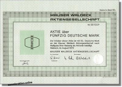 Mauser Waldeck AG