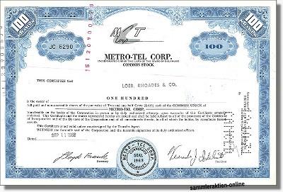 Metro-Tel Corporation