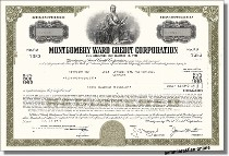Montgomery Ward Credit Corporation