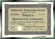 Mülheimer Bergwerks-Verein in Mühlheim