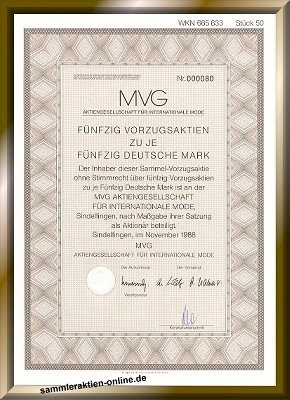 MVG Mode AG