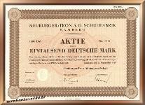 Neuburger Tron Schuhfabrik