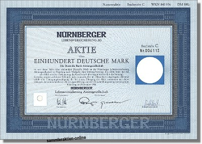 Nürnberger Lebensversicherung Aktiengesellschaft