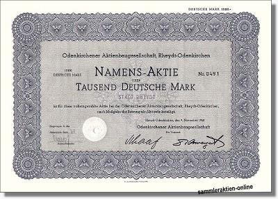 Odenkirchener Aktienbaugesellschaft