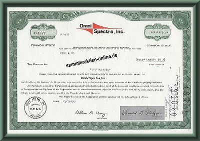 Omni Spectra Inc.