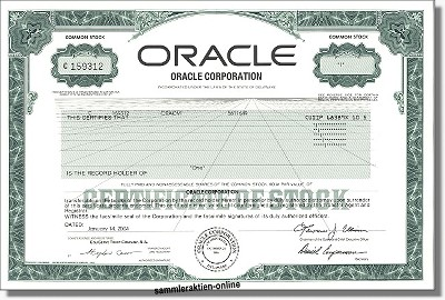 Oracle Corporation