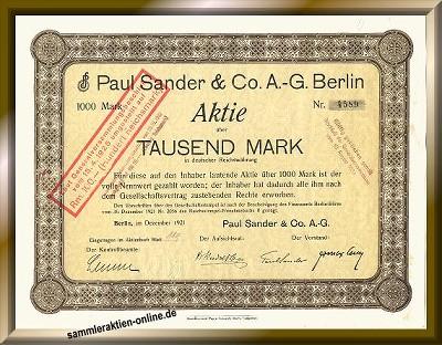 Paul Sander AG