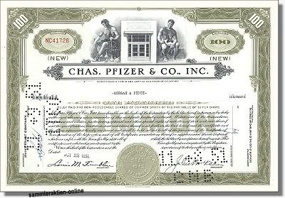 Pfizer, Chas. Pfizer & Co. Inc.