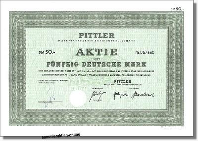 Pittler Maschinenfabrik AG