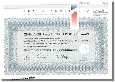 Praha Portfolio Beteiligungen AG