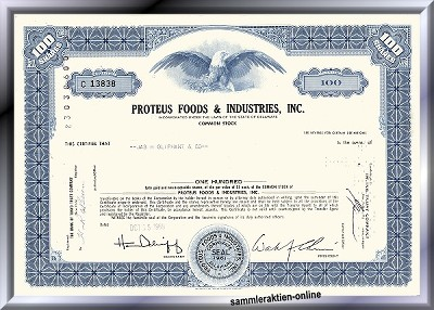 Proteus Foods & Industries