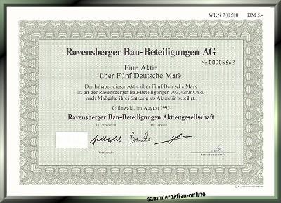 Ravensberger Bau-Beteiligungen AG