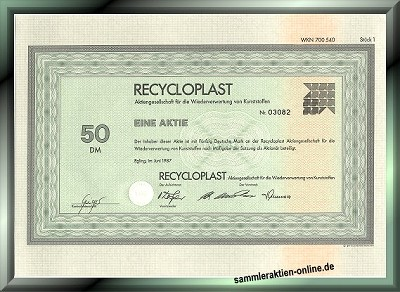 Recycloplast AG