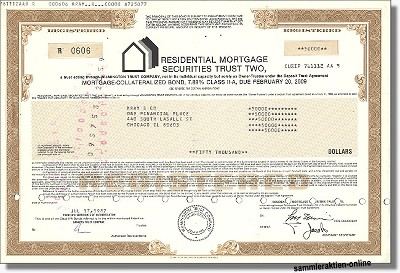 Residential Mortgage Securities Trust Two