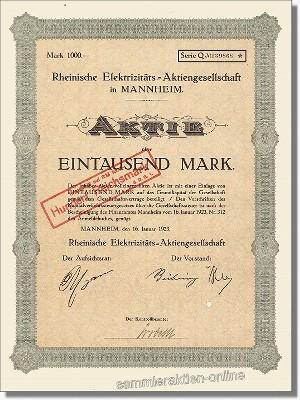 Rheinische Elektrizitäts Aktiengesellschaft
