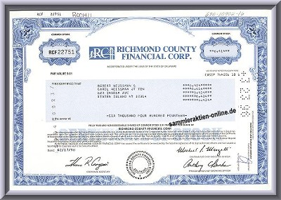 Richmond County Financial Corp.