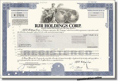 RJR Holdings Corp.