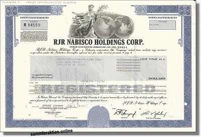 RJR Nabisco Holdings Corp.
