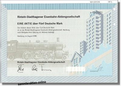 Rinteln-Stadthagener Eisenbahn AG - RSE