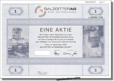 Salzgitter Aktiengesellschaft