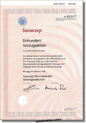 Sanacorp Pharmahandel Aktiengesellschaft