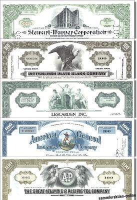 Geschenkset schönste USA-Aktien Nr. 2
