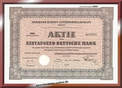 Hermann Schött Actiengesellschaft