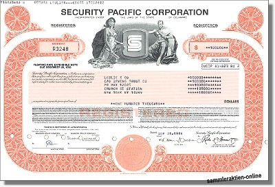 Security Pacific Corporation