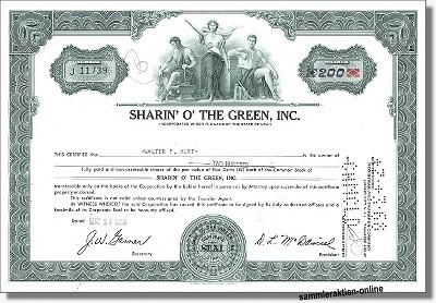 Sharin' O' The Green Inc.