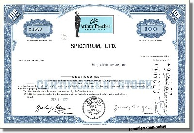 Spectrum Ltd. - Arthur Treacher