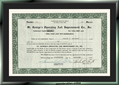 St. George's Operating and Improvement Co.