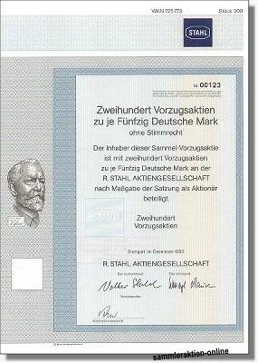 R. Stahl Aktiengesellschaft