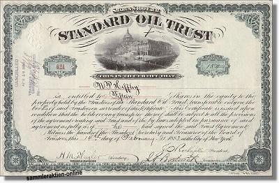 Standard Oil Trust - Nachdruck
