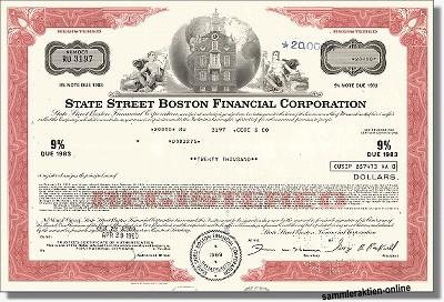 State Street Boston Financial Corp.