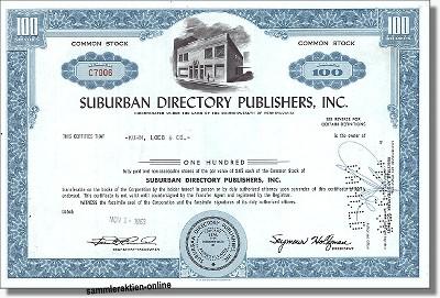 Suburban Directory Publishers Inc.