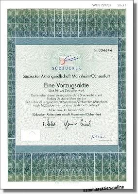 Südzucker Aktiengesellschaft