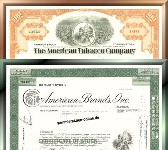 Branchenset Tabak 2-3 - American Tobacco & American Brands