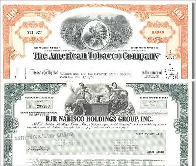 Branchenset Tabak 2-2 - Reynolds & American Tobacco
