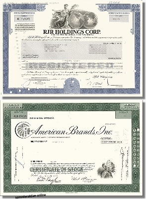 Branchenset Tabak 2-1 - Reynolds & American Brands