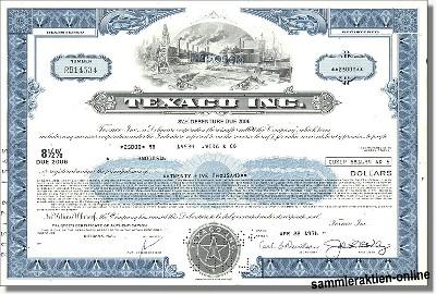 Texaco Incorporation