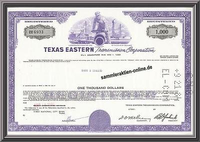 Texas Eastern Transmission Corporation