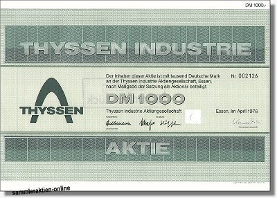 Thyssen Industrie AG