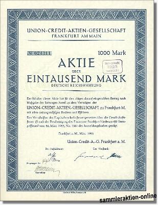 Union-Credit Aktiengesellschaft