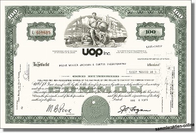 UOP Inc. - Universal Oil Products