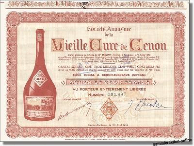 Vieille Cure de Cenon - Bols