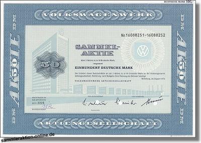 Volkswagenwerk AG - VW