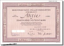 Maschinenfabrik Müller-Weingarten AG