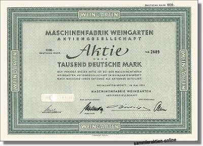 Maschinenfabrik Weingarten