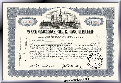 West Canadian Oil & Gas Limited